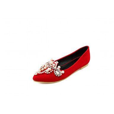 Cómodo y elegante soporte de zapatos de tacón para mujer primavera verano otoño invierno comodidad novedad pu sintético boda oficina y carrera partido y vestido de noche Casual Stiletto talón rojo