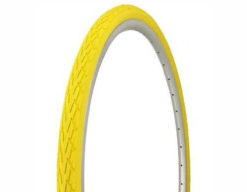 Tire Duro 700 x 35c Yellow/Yellow Side Wall DB-7044. Bicycle tire, bike tire, track bike tire, fixie bike tire, fixed gear tire by Lowrider