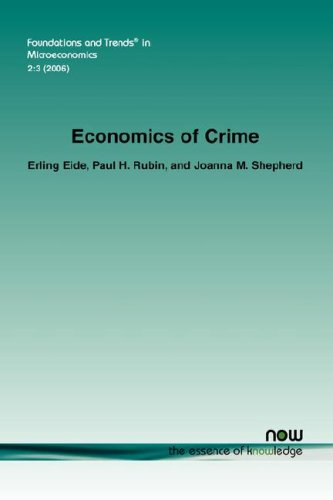 Economics of Crime (Foundations and Trends(r) in Microeconomics)