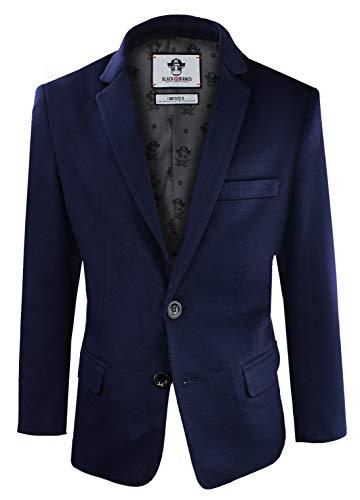 Black n Bianco Boys' Twill Blazer Jacket Formal or Casual Presented by...
