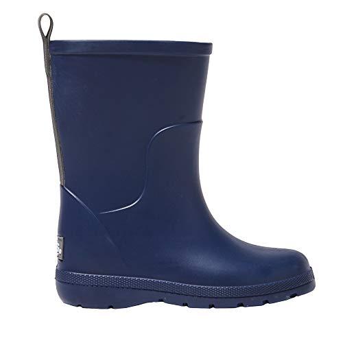 (totes Toddler's Cirrus Charley Tall Rain Boot Navy)