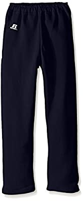 Russell Athletic Big Boys' Youth Dri-Power Fleece Open Bottom Pocket Pant