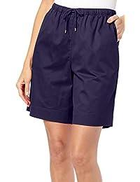 4c99c767bc0e Womens Twill Drawstring Shorts · Coral Bay