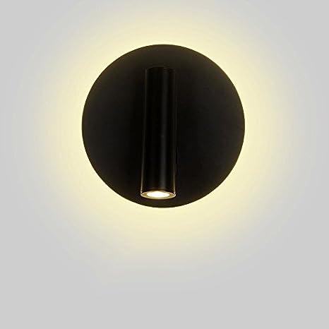 Vinteen Creativity Wall Lamp USB Ricarica Lampade da parete rettangolari Applique da parete Lampada da comodino Camera da letto Decorazione di moda Semplice personalità Lampione da parete per hotel Interruttore girevole Faretti Spot Lamp Read Light Fixture