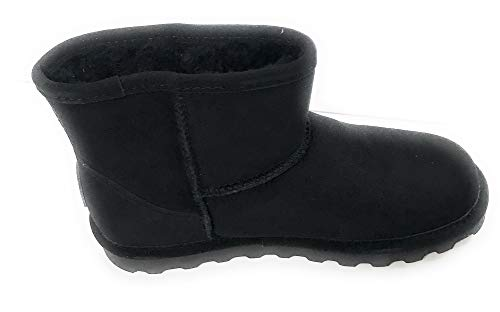 BEARPAW Women's Alyssa Fashion Boot, Black, 7 M US