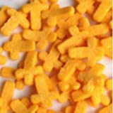Natural Orange Gluten GMO Nuts Dairy Soy Free confetti Halloween Cross Bulk Pack