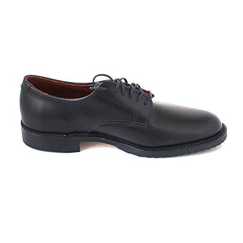 Black Man Derby Shoes nero Wing Red ZfwPTT
