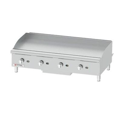 Cecilware Pro GCP48 Commercial Gas Countertop Griddle 120,000 BTU by Cecilware