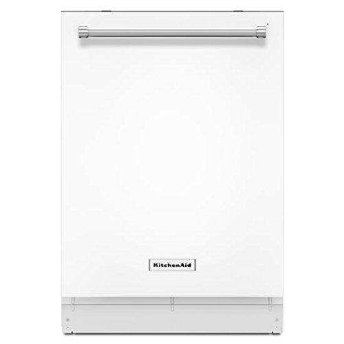 """KitchenAid 24"""" Tall Tub Built-In Dishwasher White KDTM404EWH"""