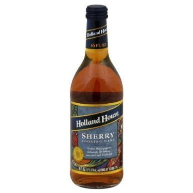 Holland House Sherry Cooking Wine 16.0 OZ(Pack of 2) by Holland House
