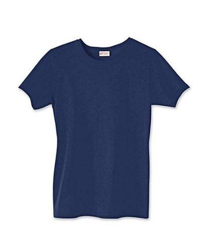 Rose Shirt Rosa T Asimmetrico Donna Hanes Bright qvxYAw775