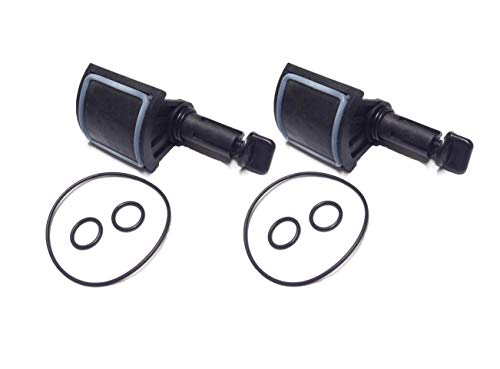 ATIE PoolSupplyTown Diverter Valve Kit Replacement for Jandy 2 Port or 3 Port Never Lube Valve 4720 (2 Pack)