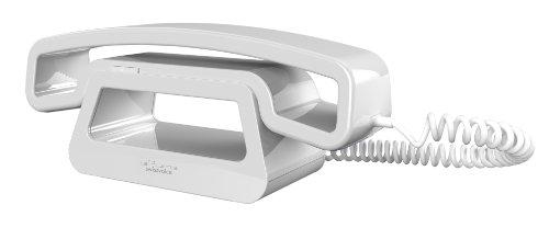 Swissvoice CH01 schnurgebundenes ePure-Handteil an Mobiltelefon, PC, Tablet weiß