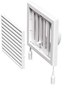 Rejilla Vioks de ventilación de 100 mm para campana extractora, climatizador o secadora: Amazon.es: Grandes electrodomésticos