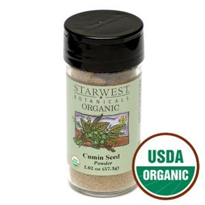 Organic Cumin Seed Powder Jar - 2.04 oz