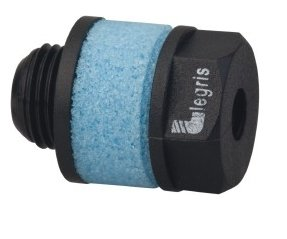 1/8 BSPP, 20.5mm OAL, Muffler 145 Max psi, 13.9 CFM, 82 Decibel Rating, Polyethylene by Legris