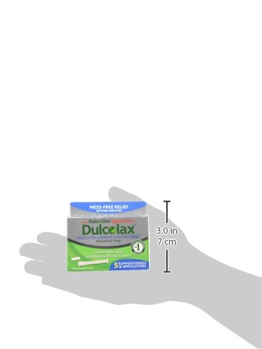 Dulcolax Laxative Suppositories With Dulcoglide