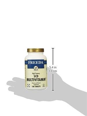 Freeda SCD Multivitamin - 180 Tablets