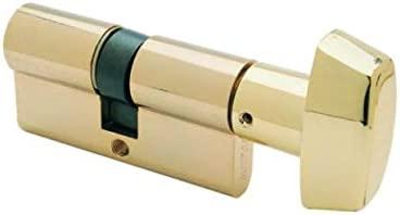 TX855050N Doble Embrague Niquelado Llave Cilindro de Alta Seguridad Tesa Assa Abloy Llave Leva Larga TX80 50 x 50 mm