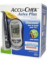 ACCU-CHEK Aviva Blood Glucose Meter with 10 Strips (Aviva Monitor)