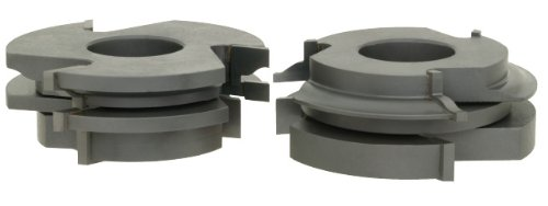 1-1//4-Inch Bore Roman Carbide DC2179 Stile and Rail Cabinet Set Roman Ogee