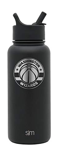 (Simple Modern Washington Wizards 32oz Summit with Straw Water Bottle - NBA )
