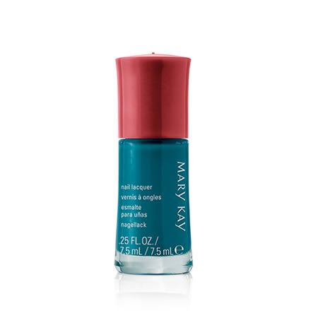 Mary Kay Nail Lacquer Tempting Teal by Mary (Mary Kay Nail)