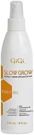 GiGi Slow Grow Body Oil, 8 ounces