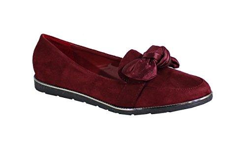 para Rojo Mujer Shoes by Bailarinas xFZqTwnE