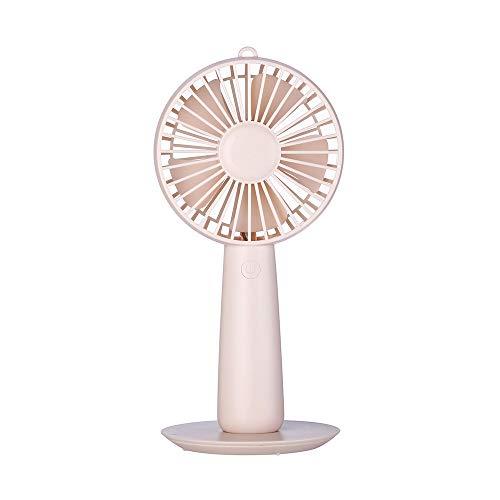 (Yu2d  Protable Desktop Fan USB Mini Electric Fan Table Fan 3-Speed Wind)