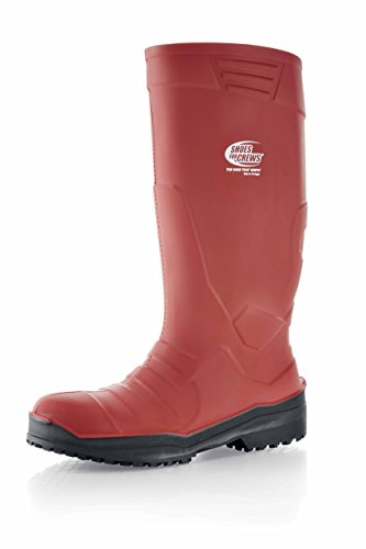 Bottes Sentinel nbsp;taille 6 Rouge Unisexe Chaussures 5 Pour Crews Pu IqqCxUgfw