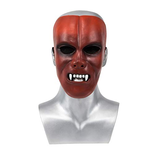 Jordan Peele Us Mask,US 2019 Mask Evan Alex Mask Cosplay Horror Movie Mask Halloween Accessories -