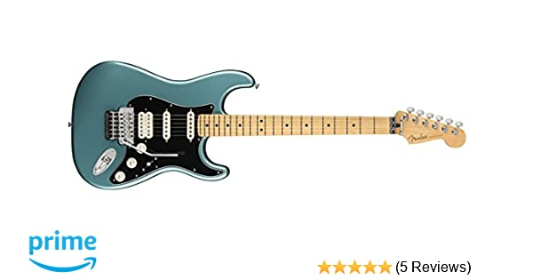 Fender Player Stratocaster Electric HSS Guitar - Floyd Rose - Maple Fingerboard - Tidepool