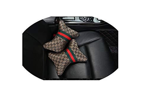 Fashion Car Seat Cover Cushion Protector Mat Pad,Beige 2 Piece
