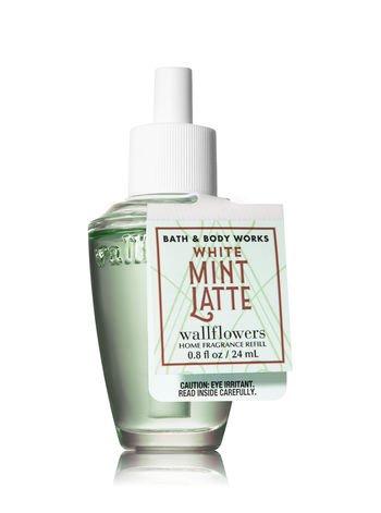 Bath & Body Works Wallflowers Fragrance Refill Bulb White Mint Latte ()