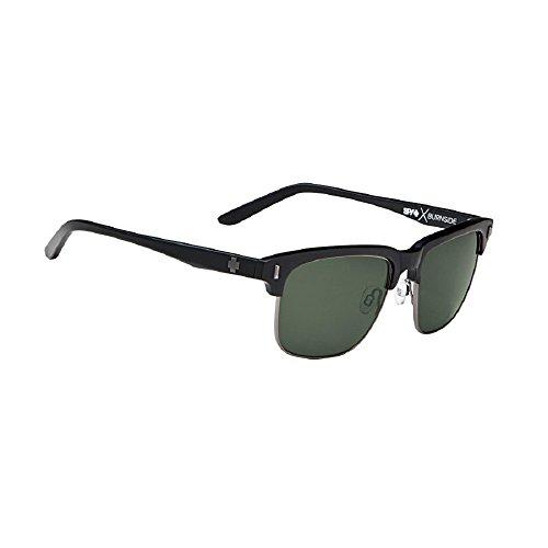 Spy Burnside Sunglasses Matte Black/Grey Lens - Burnside Spy