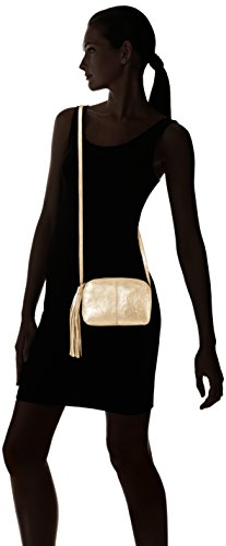 Colour Or gold Over Leather Pcmylisia Bandoulière Cross Pieces Bag Sacs Swz06q8