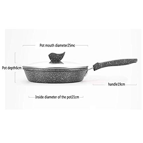 Non Stick Copper Coated Frying Fry Pan Kitchen Pot ()