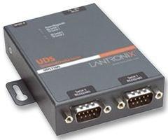Lantronix Device Server UDS 2100 - Device server - 2 ports - 10Mb LAN, 100Mb LAN, RS-232 UD2100002-01