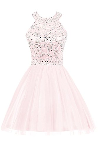 Fanciest Robes De Bal Perlées Femmes 2016 Robes De Mariée Robes Formelles Junior Perle Rose