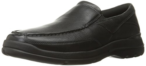 Rockport Men's City Play Two Slip On Oxford, Black, 9.5 M US