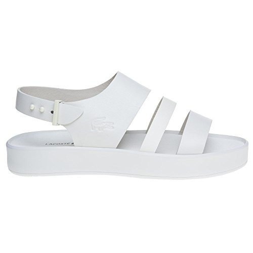 Lacoste White White Sandals Off Pirle rFwgIrq