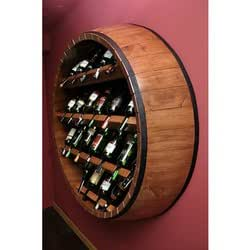 Botellero de madera lug