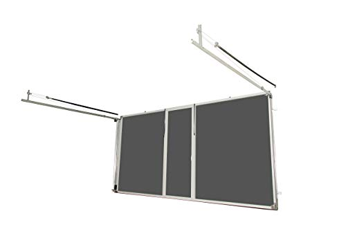 Lifestyle Screens Garage Door Screen 7'H with Standard Screen Material (All Widths & All Colors) (16'Wx7'H, White) ()