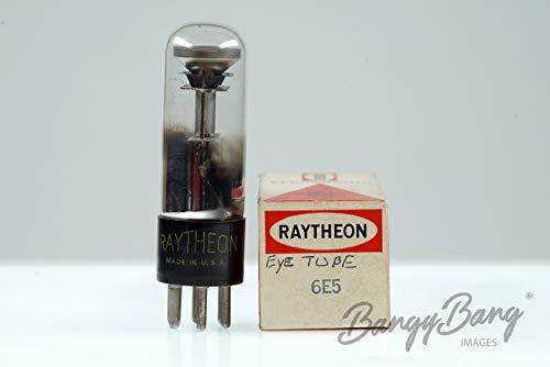 Vintage Raytheon 6E5/CV1906/VT-215/UZ-6E5 Mag. Eye 1 Shadow Angle Indication- BangyBang Tubes