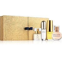 Estee Lauder Fragrance Treasures 4-Piece Miniature Gift Set for Women (Sensuous, Peasures, Beautiful & Pure White (4 Piece Miniature Set)