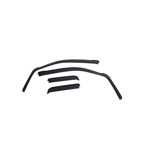 EGR 574981 In-Channel Window Visors Front & Rear Smoke 2005-2014 Toyota Tacoma ()