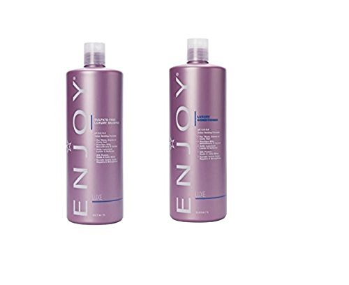 Enjoy Hair Care - 33.8 Ounce Luxury Duo Shampoo and Conditioner Duo by Enjoy (Image #1)