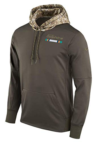 promo code b5287 5eac7 Amazon.com : Miami Dolphins NFL Salute to Service Men's STS ...