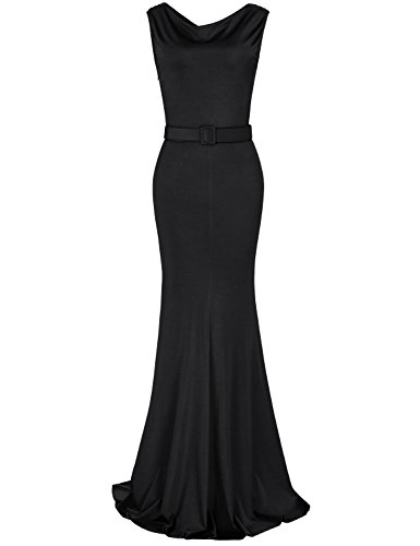 long black grecian dress - 7